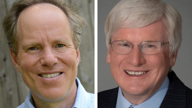 Dan Kohl (left) and U.S. Rep. Glenn Grothman (right).