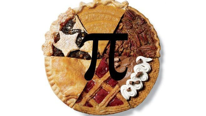 In honor of the kitschy national holiday Pi Day and Albert's 139th birthday, it's time serve up some pie.