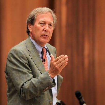 J. Bruce Harreld speaks to University of Iowa community
