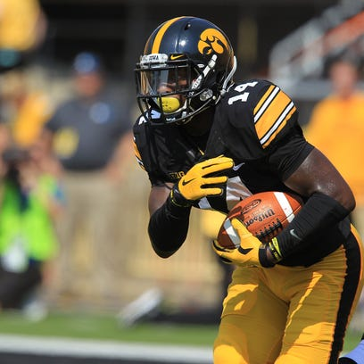 """""""I'm going to go for the ball at all times,"""" Iowa cornerback"""