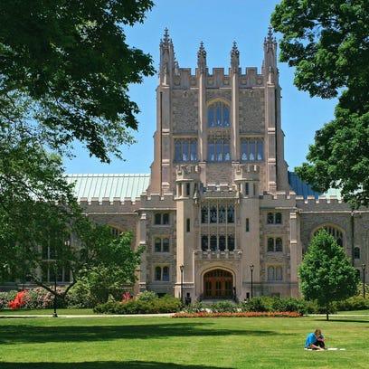 Thompson Memorial Library at Vassar College, Poughkeepsie