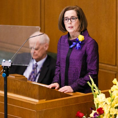 Gov. Kate Brown delivers the State of the State address
