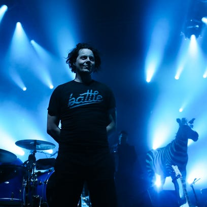 Jack White performs at a sold-out Eagles Ballroom at