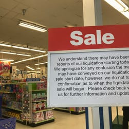 Toys R Us says liquidation sale likely to start Friday