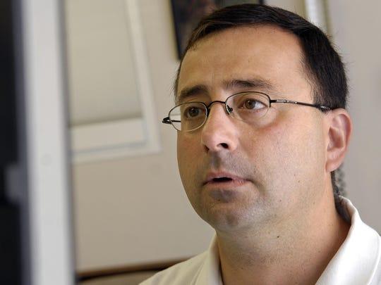 AP DOCTOR-SEXUAL ABUSE GYMNASTICS S GYM FILE USA MI