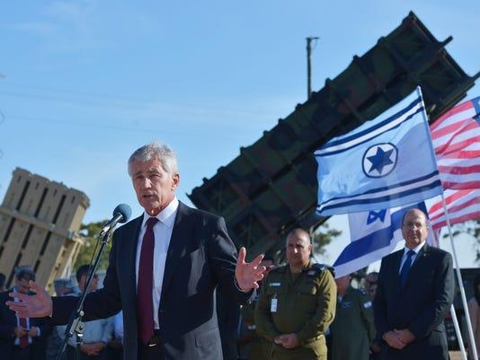 Def. Sec. Hagel Visits Middle East