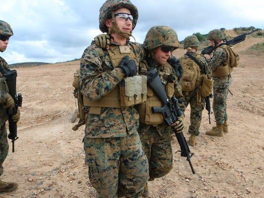 Marines and retirement