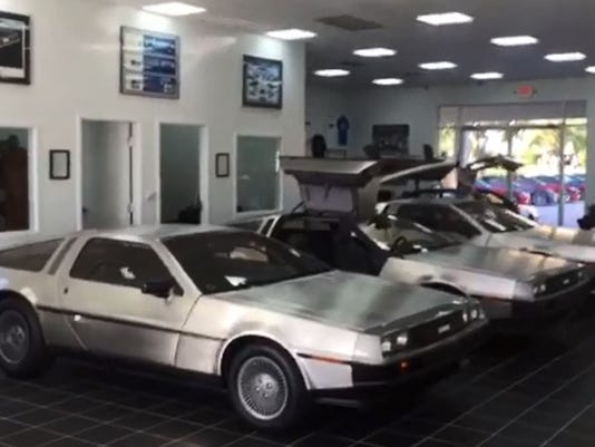 Deloreans For Sale >> Bonita Springs car dealership has 9 DeLoreans for sale