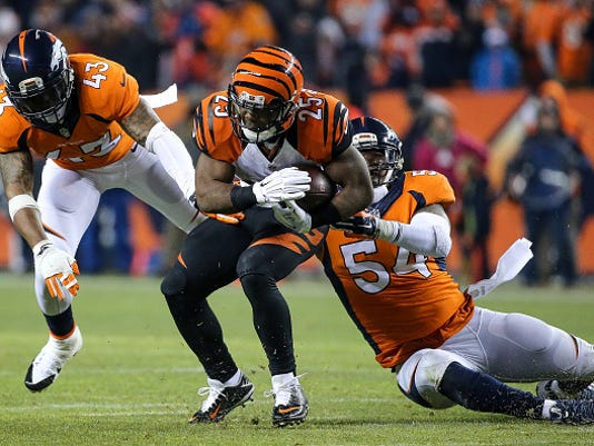 If Top Tackler Marshall Can T Play Broncos Prepared