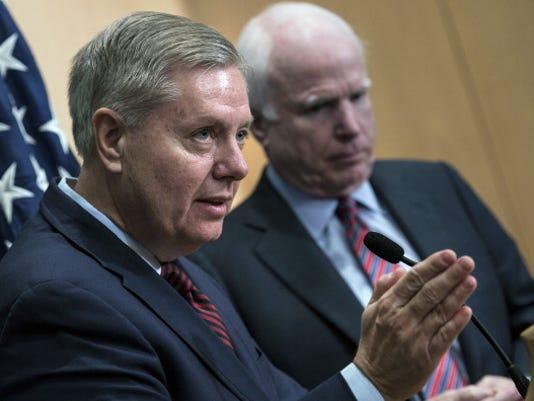 Sens. Lindsey Graham and  John McCain