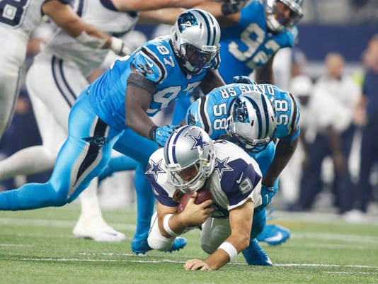 NFL: Carolina Panthers at Dallas Cowboys