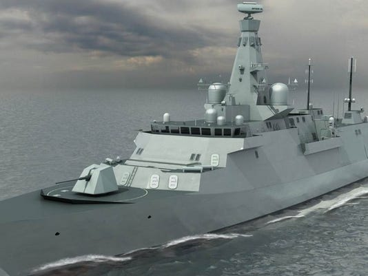 Supply contracts were awarded for the Type 26 frigate. (Photo: BAE Systems)