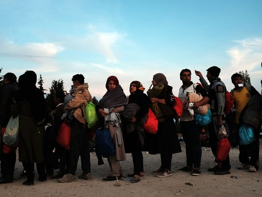 Greek Island Of Lesbos Continues To Recieve Migrants Fleeing Their Countries