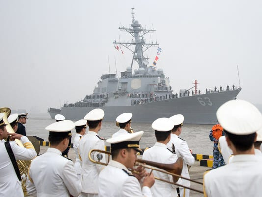 CHINA-US-NAVAL SHIP