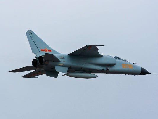 Xian JH-7A fighter jet