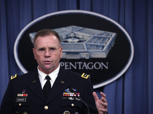 Army Lt. Gen. Ben Hodges Gives Pentagon Briefing On US Support to European Allies