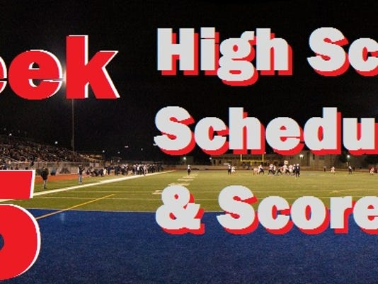 college football week 5 schedule this week football schedule