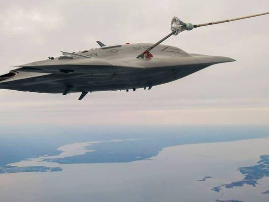 X-47B Unmanned Jet