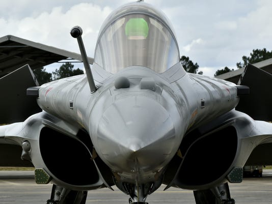 FRANCE-DEFENCE-MILITARY-ARMED FORCES-AIR FORCE
