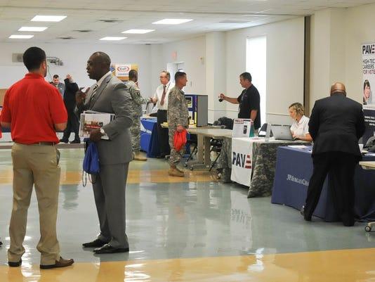 Fort Hood hosts job fair for officers