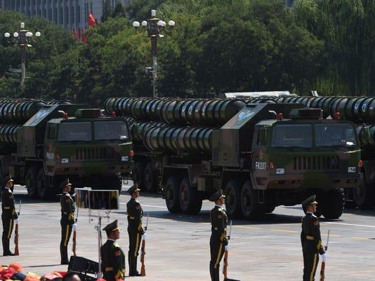 HQ-9 military parade china