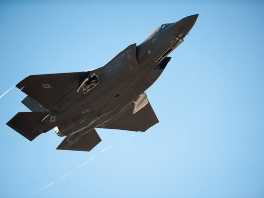 The first Royal Australian Air Force F-35A Lightning II jet arrived at Luke Air Force Base