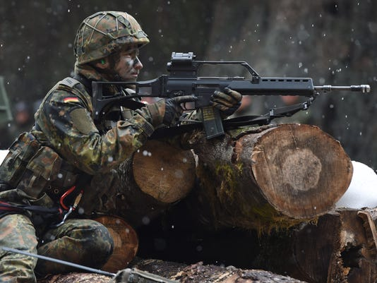 GERMANY-MILITARY-BUNDESWEHR-MOUNTAIN-INFANTRY