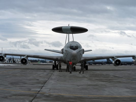 U.S. Air Force E-3 Sentry AWACS