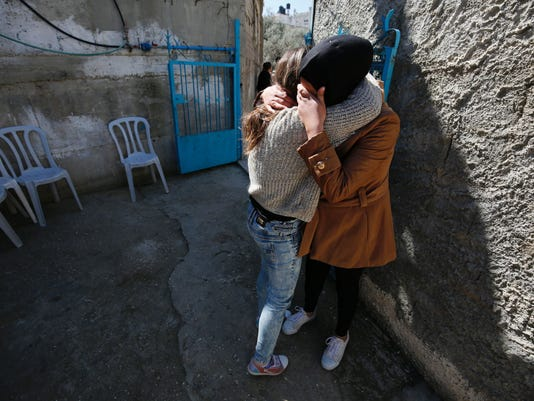 PALESTINIAN-ISRAEL-CONFLICT-CLASHES