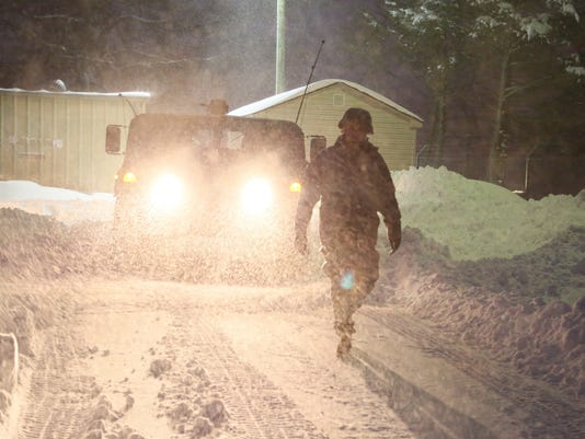 116th IBCT Soldiers continue to assist State Police, localities