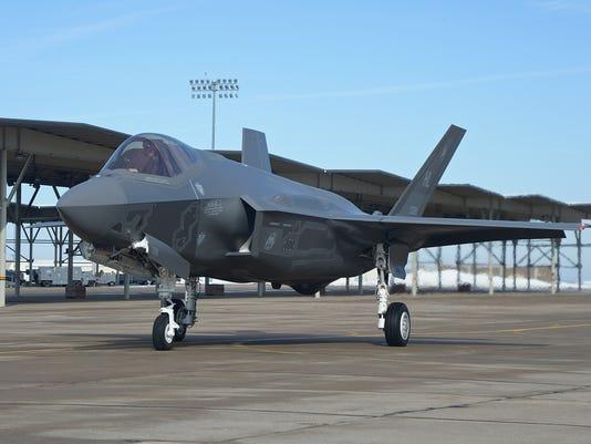 6th 388 FW F-35A Lightning II arrival
