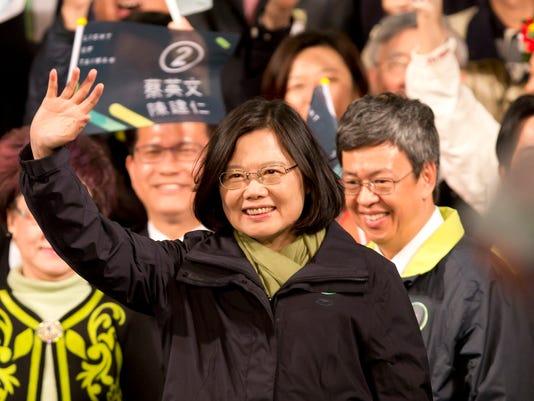 President-elect Tsai Ing-wen