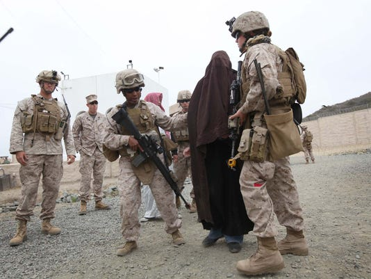 Advisor Training Cell preps female engagement team for Marine Expeditionary Unit deployment