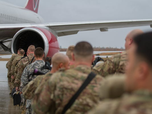 10th Mountain Division Soldiers deploy in Support of Operations Freedom's Sentinel