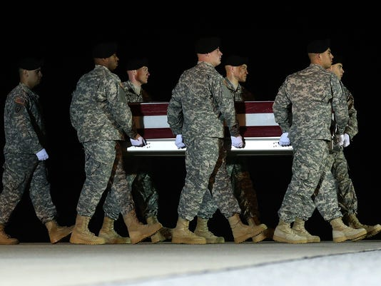 Body Of Army Staff Sgt. McClintock Killed In Afghanistan Returns To Dover Air Force Base