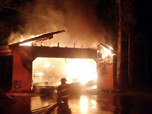 Firefighters Swiftly Extinguish Arundel Barn Fire
