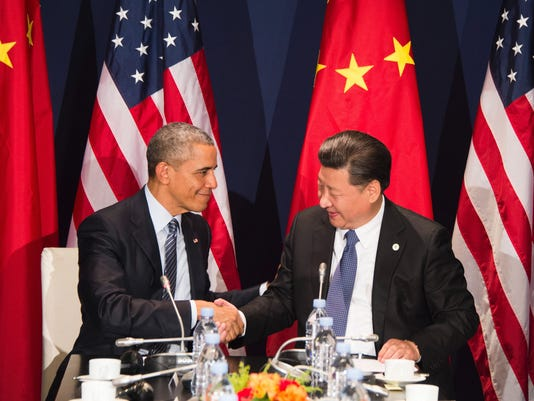 Obama Xi Climate Meeting