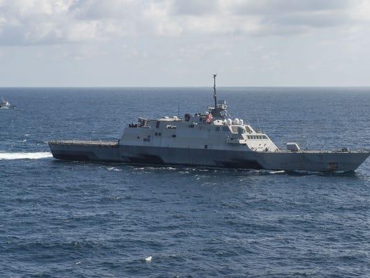 Littoral Combat Ship USS Fort Worth (LCS 3) CARAT Cambodia 2015