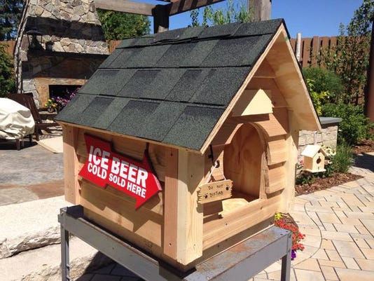 kare 11 dog house up for auction with proceeds benefiting can do