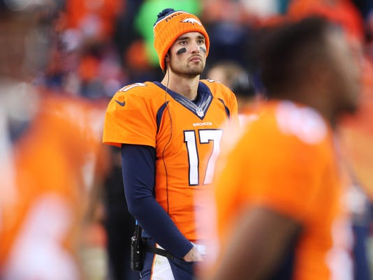 Osweiler Has Mcl Strain In Right Knee