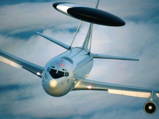NATO's E-3A Sentry AWACS