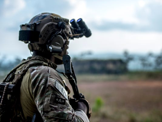 US and Belize conduct military exercise Fused Response 2014.