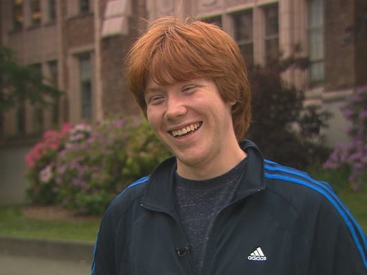 The Ron Weasley look-a... Rupert Grint Today