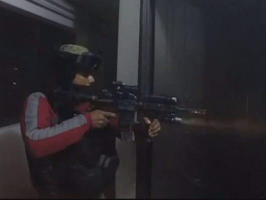 Mexican marines raid an el chapo safe house in sinaloa photo mexican