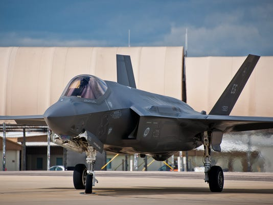 First general officer completes F-35 qualification training