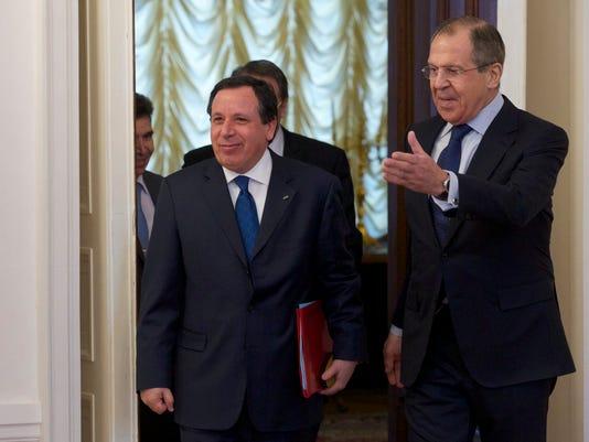 Sergey Lavrov, Khemaies Jhinaoui