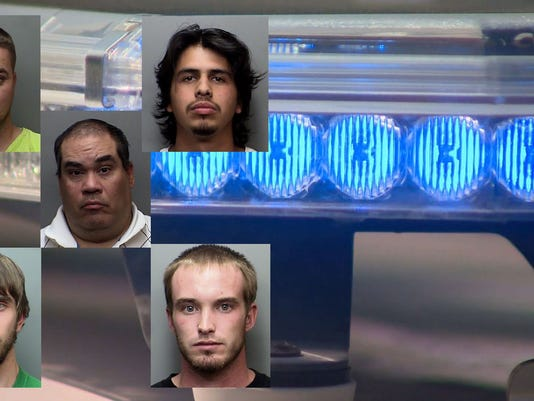 5 Men Arrested For Soliciting A Prostitute