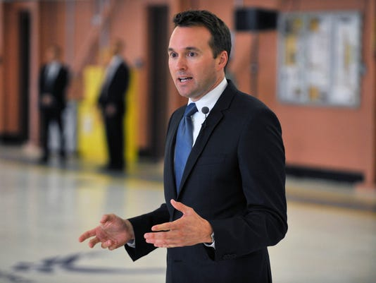 Secretary of the Air Force Eric Fanning Visits the 106th Rescue Wing