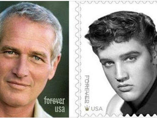 Paul Newman Elvis Whose Forever Stamp Will You Buy