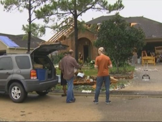 At least 70 homes damaged in la porte schools closed monday for Laporte county state of emergency